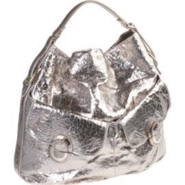 Anya Hindmarch metallic bag
