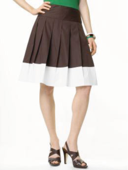 Banana Republic Color-Blocked Skirt