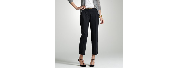 J.Crew stretch elan wool trouser