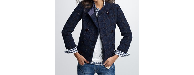 J.Crew Collection Car Coat