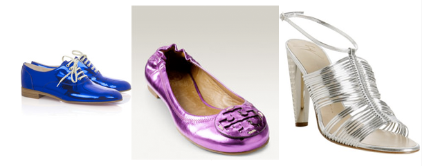 Hope Hearts: Mirrored Leather Shoes