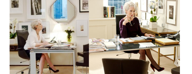 Home Style: Devil Wears Prada Inspired Office, Part 1 - Hope Reflected