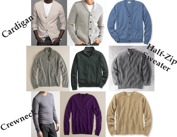 Every Man Essentials: The Sweater