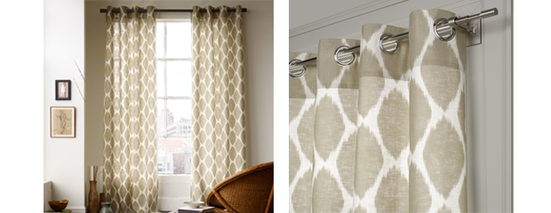 home style west elm ikat curtains