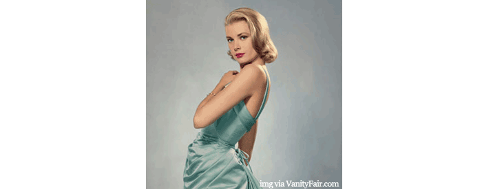Inspired by: Grace Kelly