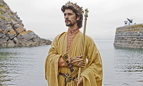 Ben Whishaw as Richard II in Richard II, The Hollow Crown.