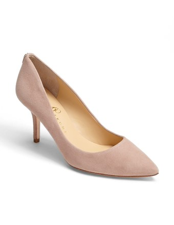 Ivanka Trump Suede Pumps