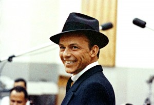 Frank Sinatra was the epitome of cool in a Lock and Co. fedora.