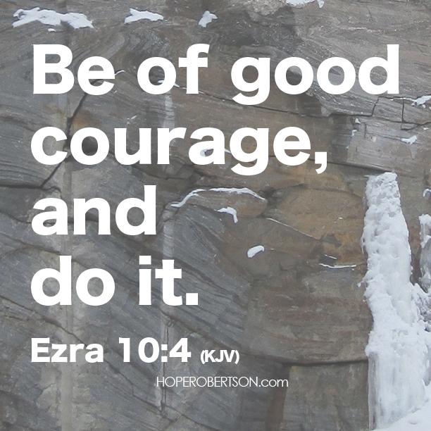 Ezra 10:4 (KJV)