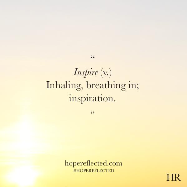 Inspire definition