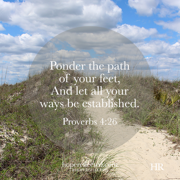 proverbs about God directing our paths
