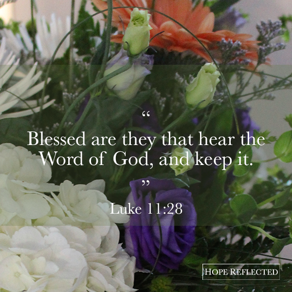 blessing in obedience luke 11:28