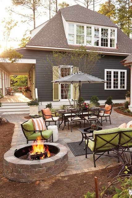 outdoor living backyard patios